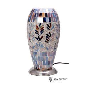 700873 - Mozaïek Glass Lamp 16x16x32cm
