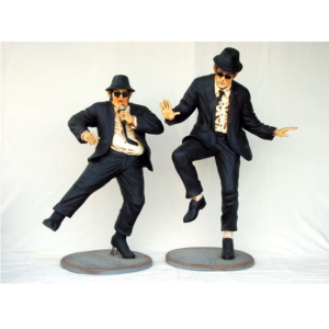 0745 Blues Brothers set of 2 Life Size