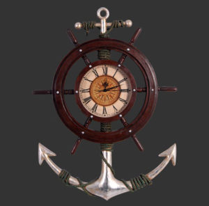 H-80052 Nautical Clock - Scheepsklok