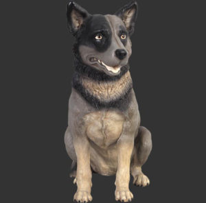 H-80072 Blue Heeler - Australian Cattle Dog