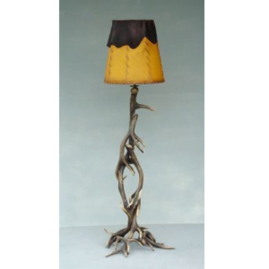 8007 Long Horn Lamp with Shade