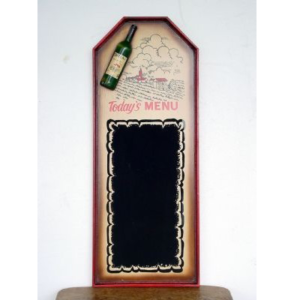 0083 Menu To Day's Wine - Menubord