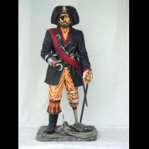 0840 Pirate Life Size - Piraat