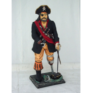 0841 Pirate 3 ft. - Piraat