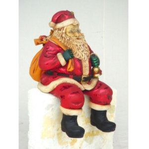 0863 Santa Claus Sitting 2 ft. - Kerstman