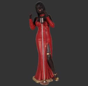 H-90028 Female Singer - Jazz Zangeres