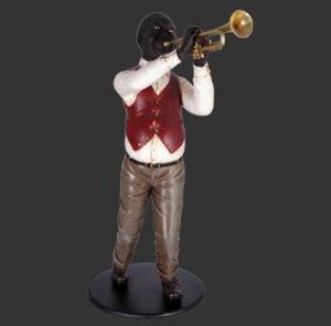 H-90030 Trumpet Player - Jazz