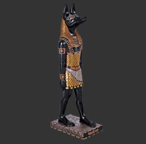 AFAN3 Egyptian Anubis - Egypte
