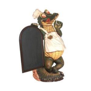 AFCRM Crocodile Menubord - Krokodil