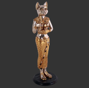 AFECS Egyptian Cat Standing 3ft - Kat Egypte