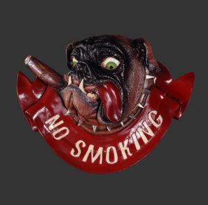 AFNSB No Smoking Buldog - Verboden te Roken