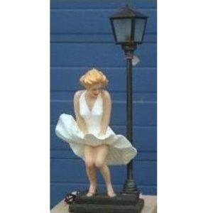 ALD3012 Lamp American Girl - Marilyn Monroe