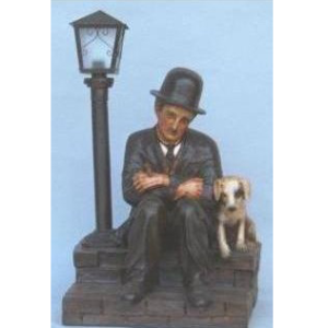 ALD3015 Lamp Comedian with Dog