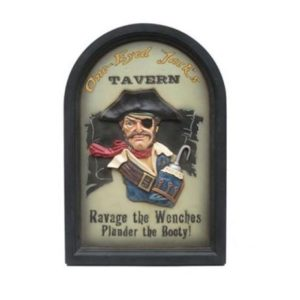 AP1650 Jack''s Tavern Pubbord - Piraat