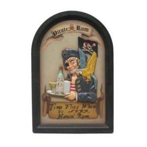AP1660 Pirate Rum Pubbord - Piraat
