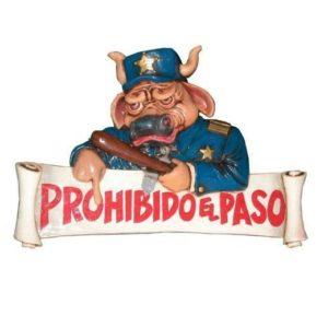 APPEP Prohibido - Verboden - Pubbord