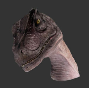 H-100014 Allo Saurus Head - Dinosaurus