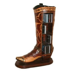 CDCOB Cowboy Boot CD holder