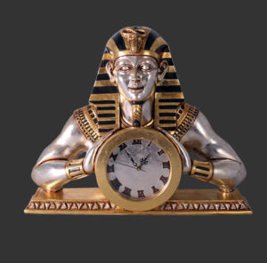 CLEMC Egyptian Mantle Clock - Klok