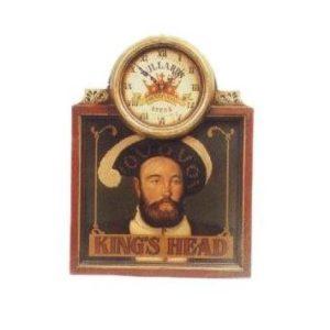 CLKHP Klok King's Head Klok Pubbord - Klok