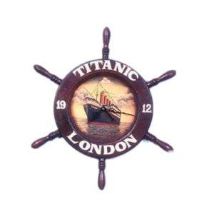 CLTIS Klok Titanic Ship Wheel