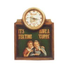 CLTTP It's Tea Time Pubbord - Klok