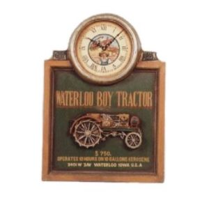 CLWTP  Waterloo Tractor Klok - Pubbord