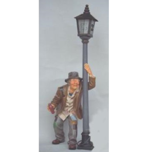 CW009 Lamp with Old Beager