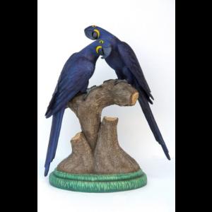 DHM-1002 Hyacinth Macaw Lover - Papegaai