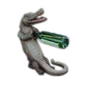 DOL-R-510 Crocodile Wine Holder - Krokodil
