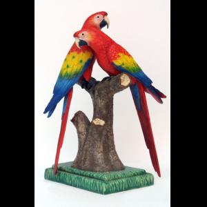 DSM-1002 Scarlet Macaw Lover - Papegaai