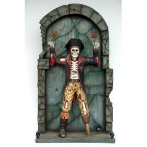 FC Pirate Skelet Chained on Wall - Piraat
