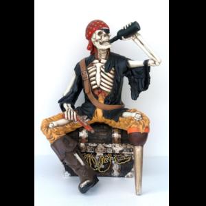 FJ Pirate Skeleton Drinking - Piraat