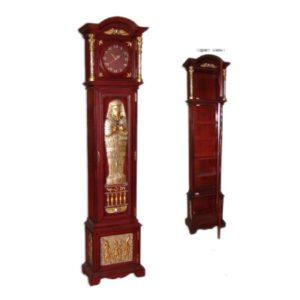FOGCC Grandfathers Cabinet Klok  - Egypte Decoraties