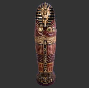 FOSAC Egyptian Cabinet Sarcofaag - Egypte