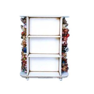 FOSCB Cabinet Shelf Bear Theme Boekenkast