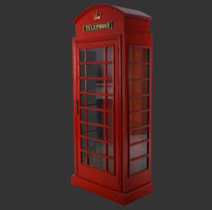 FOTEB Cabinet Telephone Booth - Telefooncel