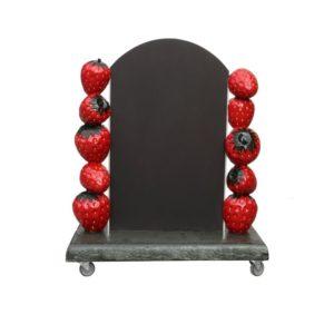 G-227 Strawberry Display on Wheels - Aardbei -96 cm