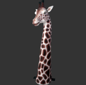H-100020 Giraffe Head - Giraf
