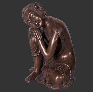 H-30319-B Buddha Sleeping Bronze - Boeddha