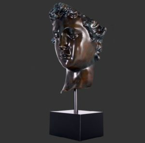 H-30602-P Body Head on Base Painted - David