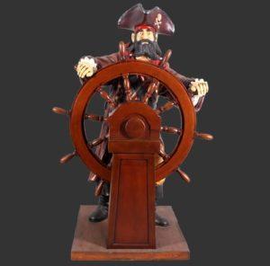 H-30714 Pirate with Steering Wheel - Piraat