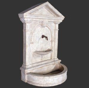 H-40502 Fountain Florentine Roman Stone - Fontein