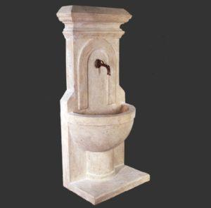 H-40503 Fountain Sienna Roman Stone - Fontein