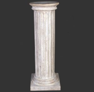 H-60405 Stone Finished Column Fluted RS - Pilaar
