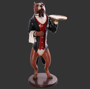 H-80034 Pitbull Hond Butler - Ober