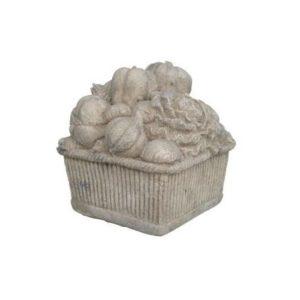 H-140502 Stone Finished Basket Veggie RS