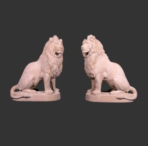 H-160274 Lion Sitting RS - Leeuw
