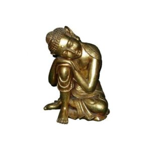 H-30319-GL Buddha Sleeping Gold Leave - Boeddha