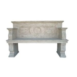 H-70506 Stone Finished Bench - Bank Lover Seat